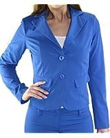 #2126 Damen Blazer Jäckchen Business Office Freizeit Casual Party Jacke Oberteil in Größen