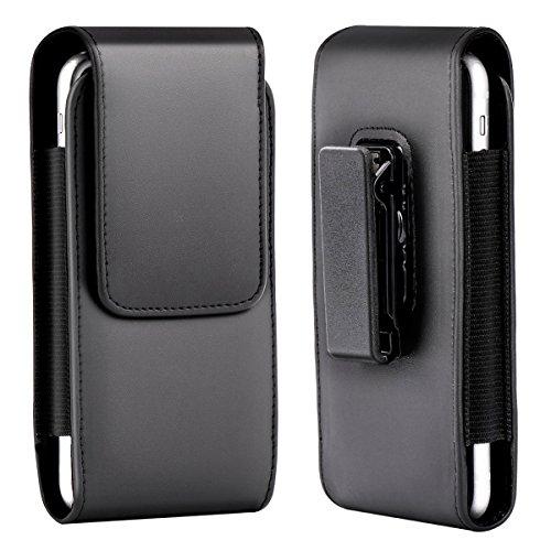Shidan PU Leder Vertikale Gürtelclip Holster Beutel Etui mit Drehbarem Gürtelclip für iPhone 11/11 Pro/X/XS/XR -