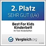 BEST FOR KIDS KINDERBETT mit Schaummatratze 70 x 140 cm - 6