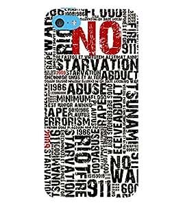 EPICCASE Catastrophe Mobile Back Case Cover For Apple iPhone 5c (Designer Case)