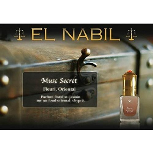 EL NABIL - MUSC SECRET 5ml - LOT DE 6