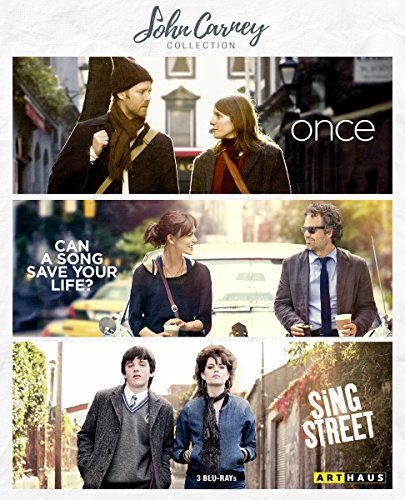 John Carney Collection - Once/Can A Song Save Your Life?/Sing Street [3 Blu-rays]