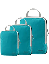 Gonex Packing Cubes, Travel Packing Organizers Luggage Compression Bags Pouches