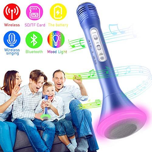 Micrófono Bluetooth con Altavoz Incorporado