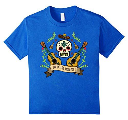 kids-day-of-the-dead-skull-dia-de-los-muertos-t-shirt-6-royal-blue