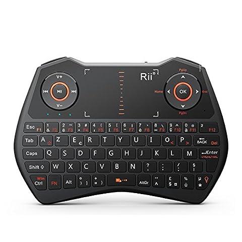 Rii Mini i28C ONE Wireless (AZERTY) - Mini Clavier Française