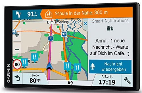 Garmin DriveSmart 61 LMT-D EU Navigationsgerät  (17,65 cm (6,95 Zoll) rahmenloses Touchdisplay, Europa (Traffic via DAB+ oder Smartphone Link)  lebenslang Kartenupdates & Verkehrsinfos, Smart Notifications) - 13