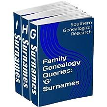 Family Genealogy Queries 3-Book Bundle: 'G' 'H' 'I' Surnames (English Edition)