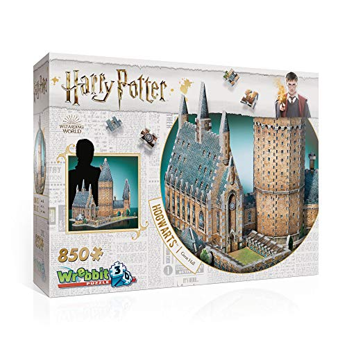 Wrebbit 3D W3D-2014 Harry Potter Hogwarts Great Hall Puzzle, Multicolor
