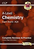 A-Level Chemistry: AQA Year 1 & 2 Complete Revision & Practice with Online Edition (C...
