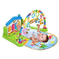 Trendi® 3 in 1 Baby Piano Play Gym Play Mat Music and Lights - Green