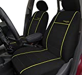 Autositzbezüge, Schonbezüge Trend Line Passend für Skoda Fabia - Universal Stoffsitzbezug Zum Sonderpreis!!! in Diesem Angebot Gelb.