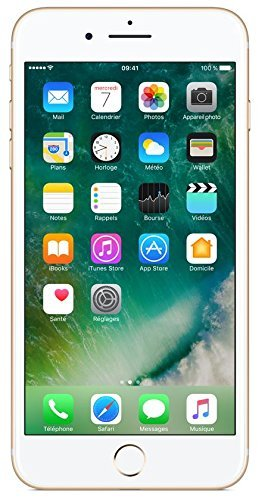 Apple iPhone 7 Plus Smartphone 4G (Display: 5,5' - iOS 10), 32 GB, Oro (Ricondizionato)
