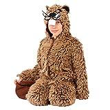 Krause & Sohn Traje de niño Castor 116-140 Disfraz de Animal de roedor de Felpa marrón General Carnaval (140)
