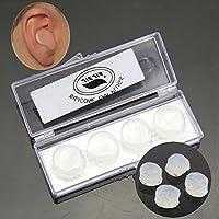 Cuigu 4pcs Silikon Ohrstöpsel - weich, bequem, für den Schlaf Lärmreduzierung Schwimmen wasserdicht preisvergleich bei billige-tabletten.eu