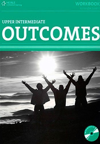 Portada del libro Outcomes Upper Intermediate Workbook by Amanda Maris (2010-02-28)
