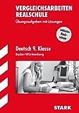 Vergleichsarbeiten Realschule Baden-Württemberg - Deutsch 8.Kl.