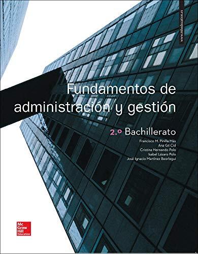 LA Fundamentos de Administracion y Gestion 2 Bachillerato Libro alumno