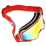 Rot Scooter Motorrad Brillen Motocross Sonnenbrillen Schutzbrillen für Skifahren Outdoor