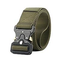 Green Nylon Belt For Men