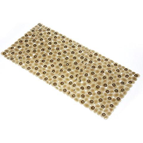 grande tappeto di ghiaia doccia/Bagno stuoie mosaico bagno ventosa pad-C 36x75cm(14x30inch)