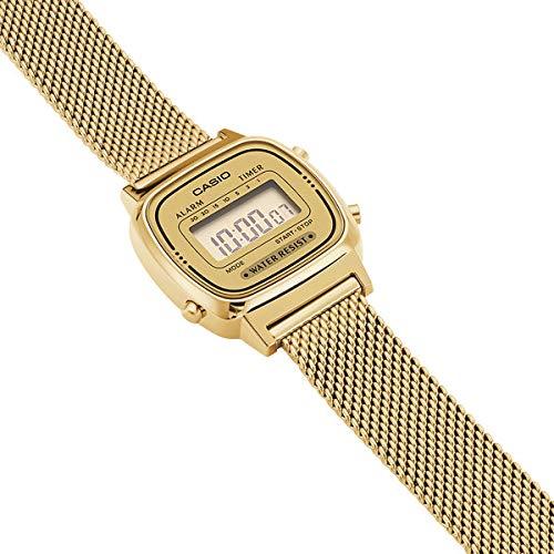 Casio Femmes Digital Quartz Montre avec Bracelet en Acier Inoxydable ... 7814a70312c6