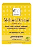 New Nordic Melissa Dream - 80 Tablets (2 x 40 Tablets) by New Nordic