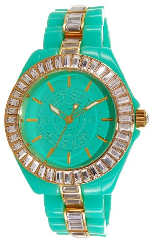 Jet Set J15148-03St. Tropez Ladies Watch–Analogue Quartz–Dial–Other Turquoise Bracelet Turquoise