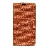 YYX Huawei honor 7A Hülle,Premium Handy Schutzhülle PU Leder Wallet Schutzhülle Tasche Flip Brieftasche Retro Klassik Ledertasche Bookstyle mit Magnet Standfunktion für Huawei honor 7A - Lila