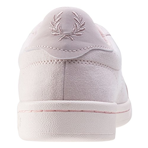 Fred Perry Brushed Cotton Court Bambina Sneaker Rosa Blush Pink