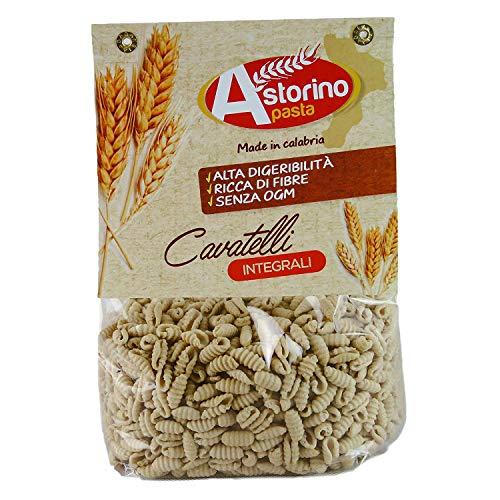 Cavatelli Integrali Pasta Artigianale Calabrese di Grano Duro Astorino 6 Confezioni di Pasta di 500g Prodotta in Calabria con Grano Italiano.