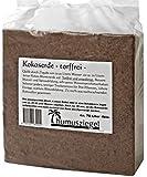 70 litri di terriccio in fibra di cocco per utilizzo interno ed esterno - privo di torba e concimi - blocco da 5 kg - Terriccio per frutta, verdura, piante ornamentali ed esotiche - fine