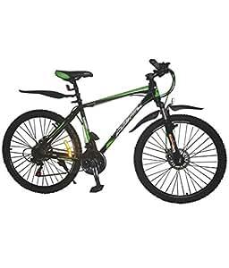 Cosmic Eldorado 1.0M MTB Bicycle, Kid's 26-inch (Green/Black)