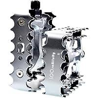 """iParaAiluRy Pedale Vtt - Plate-forme en aluminium en alliage vélo Pédales pedale de velo CNC Steel Axle 9/16 """""""