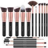Brochas de Maquillaje EmaxDesign 17 piezas Pinceles de maquillaje...
