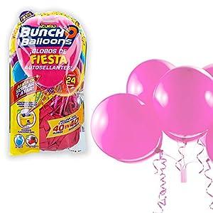 Zuru - Pack 24 globos de fiesta autosellantes colores surtidos Buncho Balloons (ColorBaby, 71888)