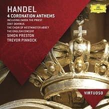 Händel: 4 Himnos De Coronación