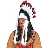 Widmann 3305B - Indianerhaarschmuck Wilder Stier