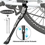 BIFY Fahrradständer für 24-27 Zoll, Rutschfester Gummiständer, höhenverstellbar