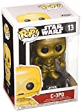 Funko - Star Wars C- 3PO Pop 10 cm Bobble Head Wackelkopf Figur