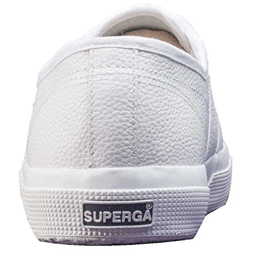 Superga 2750 Ukfglu, Baskets Basses Mixte Adulte White Gum