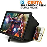 #3: Ceuta (™), 3D Magnifier Portable Screen with Radiation Protection Compatible with Xiaomi Mi, Apple iPhone & iPad, Samsung, Sony, Lenovo, Oppo, Vivo and All Smartphones [ Assorted Colour ].