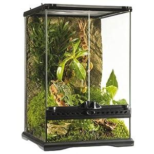 Exo Terra Reptile Glass Terrarium / Vivarium 30x30x45cm by Exo Terra