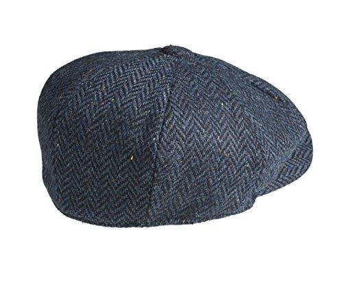 Peaky Blinders 8 Piece  newsboy  Style Flat Cap -100% Wool Fabric ... c7ba2254648