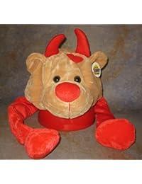 Plush Hat Heart Heart Bear Children's Fancy Dress Stag Party Carnival Baby