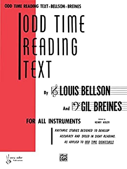 Odd Time Reading Text: For All Instruments by [Bellson, Louis, Breines, Gil]