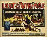 El último de los vikingos Póster de película media hoja 22 x 28 - 56 cm x 72 cm en Cameron Mitchell Edmund Purdom Isabelle Corey Corrado Annicelli George Ardisson Helene Remy