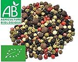 Poivre à 5 Baies mélange Bio 100g