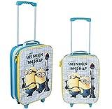 Valigia Trolley da Viaggio per Bambini 45cm Bagaglio a Mano Minions
