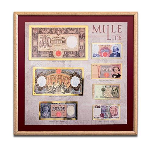 Le banconote più amate d'Italia in cornice